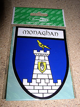 Monaghan County Car Sticker
