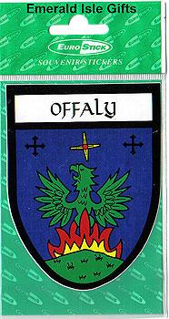Offaly County Car Sticker (Faithful County)