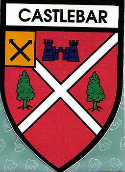 Castlebar, Co. Mayo (Irish Car Sticker)