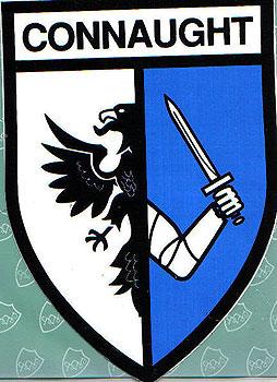 Connaught Irish Province (Irish Car Sticker)