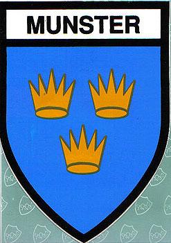 Munster Irish Province (Irish Car Sticker)