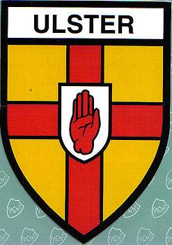 Ulster Irish Province (Irish Car Sticker)