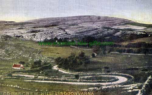 Lisdoonvarna - Clare - Corkscrew Hill