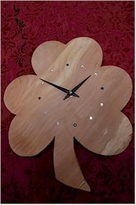 Irish Shamrock Clock (by Paul McEvoy)