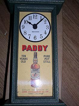 John Jameson Irish Whiskey Antique Pub Clock