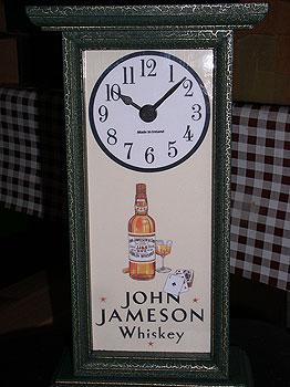 Paddy Irish Whiskey Antique Pub Clock