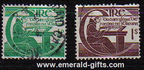 Ireland 1944 Annals Of The 4 Masters Set Of 2 Used