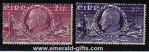 Ireland 1948 United Irishmen Rising Used Set Of 2