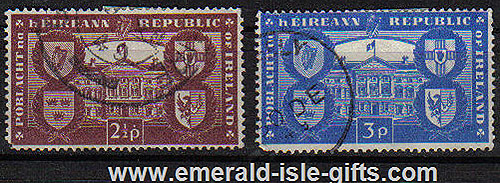 Ireland 1949 Irish Republic Declaration Used Set Of 2