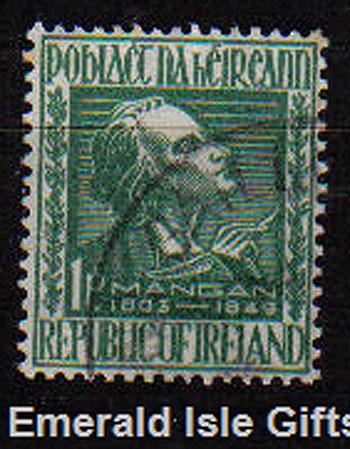 Ireland 1949 James Clarence Mangan Poet Used Set Of 1