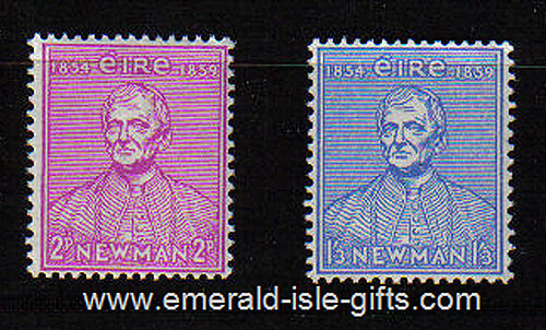 Ireland 1954 Newman Catholic University Mnh Set Of 2