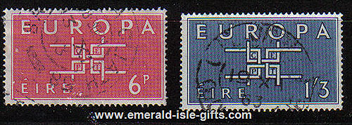 Ireland 1963 Europa Set Of 2 Used