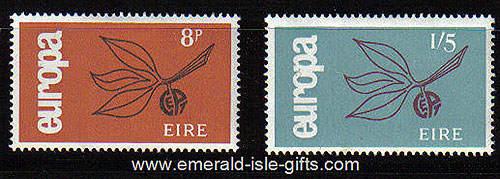 Ireland 1965 Europa Set Of 2 Mnh