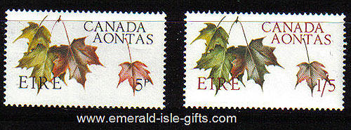Ireland 1967 Canada Centenary Set Of 2 Mnh
