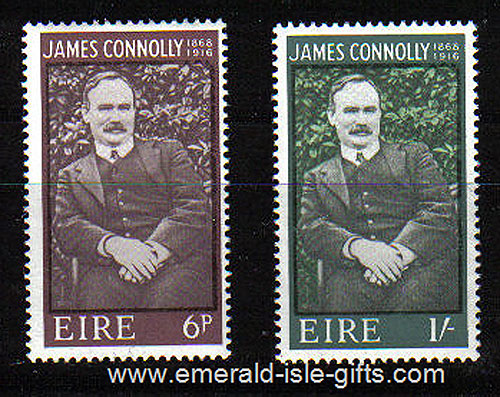 Ireland 1968 James Connolly Set Of 2 Mnh