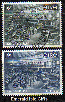 Ireland 1969 Dail Eireann Set Of 2 Used