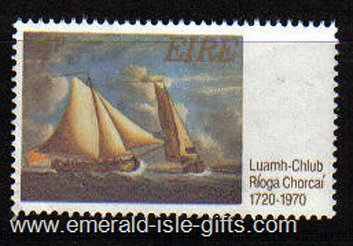 Ireland 1970 Sailing Cork Yacht Club 250th Mnh - 282