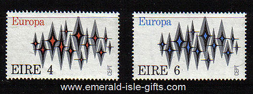 Ireland 1972 Europa Mnh Set Of 2 - 316/7
