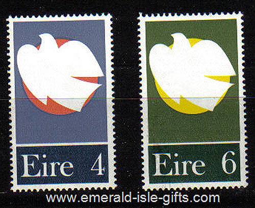 Ireland 1972 Honouring The Patriot Dead Mnh (2) - 318/9