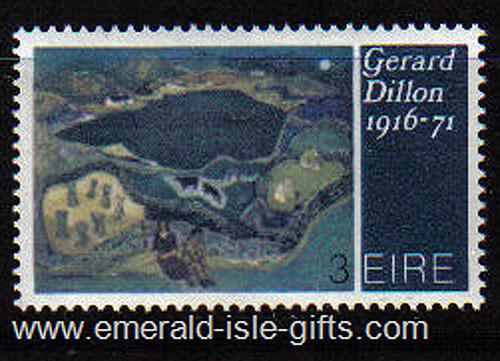 Ireland 1972 Art: Gerard Dillon Mnh - 320