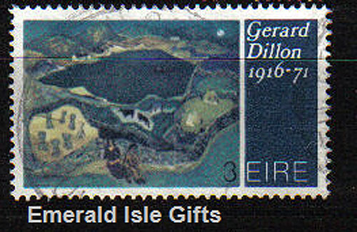 Ireland 1972 Art: Gerard Dillon Used - 320