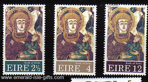 Ireland 1972 Christmas Mnh Set Of 3 - 323/5