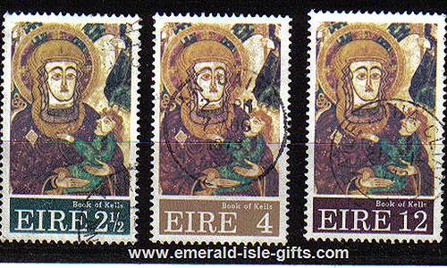 Ireland 1972 Christmas Used Set Of 3 - 323/5