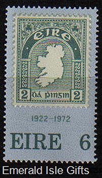 Ireland 1972 First Irish Postage Stamp Anniv. Mnh - 326