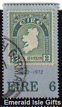 Ireland 1972 First Irish Postage Stamp Anniv. - 326
