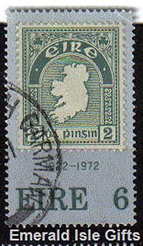 Ireland 1972 First Irish Postage Stamp Anniv. - 326