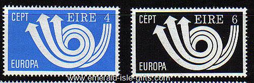 Ireland 1973 Europa 2 Mnh Set Of 2 - 329/30