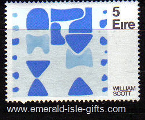 Ireland 1973 Art: William Scott Mnh - 331