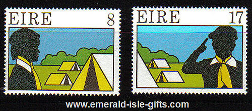 Ireland 1977 Scouting And Guiding Mnh Set Of 2 - 417/8