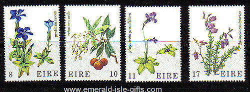 Ireland 1978 Wild Flowers Mnh Set Of 4 - 428/9