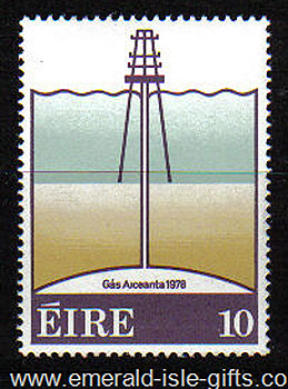 Ireland 1978 Arrival Onshore Of Natural Gas Mnh - 435