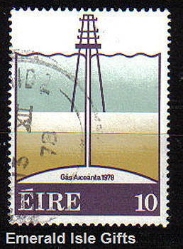 Ireland 1978 Arrival Onshore Of Natural Gas Used - 435