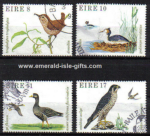 Ireland 1979 Irish Wild Birds Used Set - 450/3