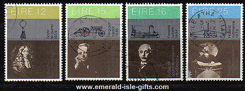 Ireland 1981 Science & Technology Used Set Of 4