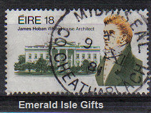 Ireland 1981 James Hoban White House Architect Used