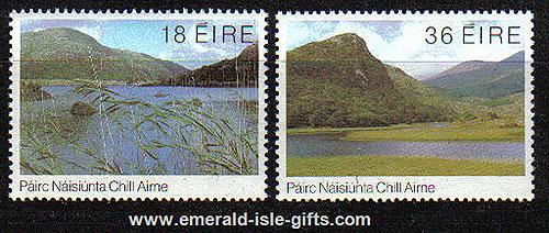 Ireland 1982 Killarney Lakes Mnh Set Of 2