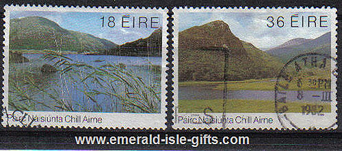 Ireland 1982 Killarney Lakes Used Set Of 2