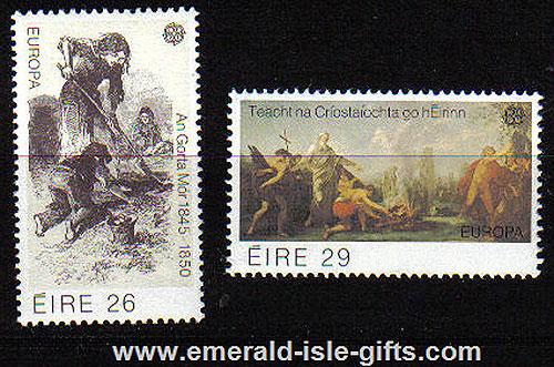 Ireland 1982 Europa Cept Mnh Set Of 2