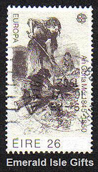 Ireland 1982 Europa Cept Famine Used (1 Stamp)