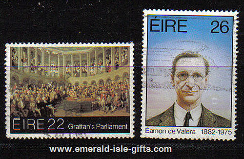 Ireland 1982 Eamon De Valera Patriot & Statesmen Used
