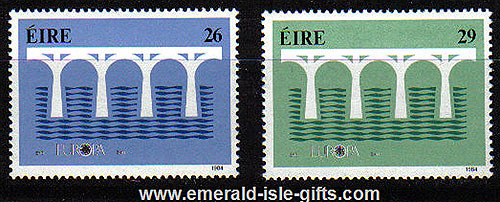 Ireland 1984 Europa Mnh Set Of 2
