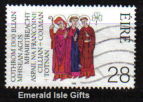 Ireland 1989 Saints Martyrs German Joint Issue Used