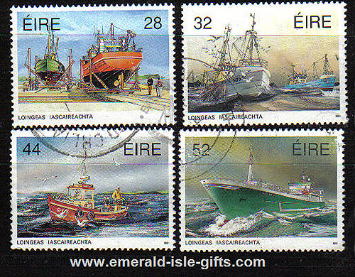 Ireland 1991 Fishing Fleet Used Set Of 4