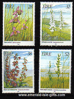 Ireland 1993 Irish Orchids Mnh Set Of 4