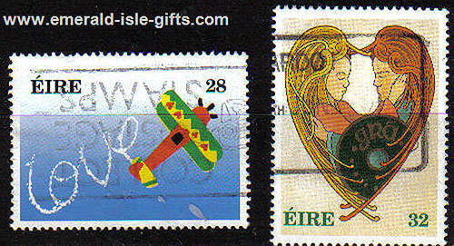 Ireland 1994 Love Stamps Used Set Of 2