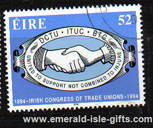 Ireland 1994 Ictu Trade Union Centenary Used